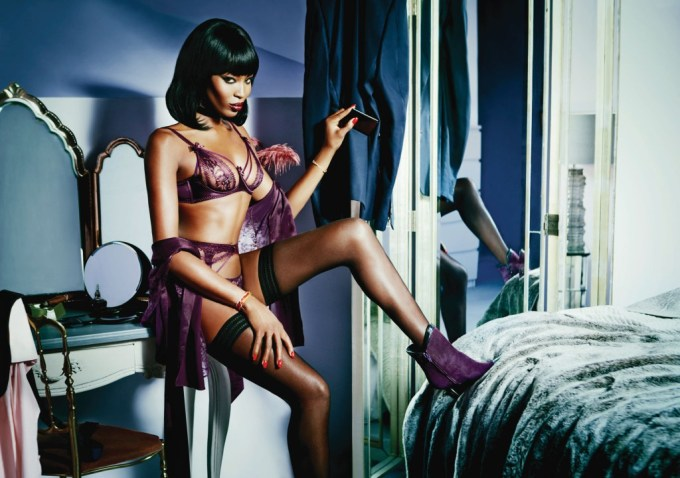 Naomi Campbell for Agent Provocateur