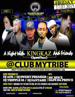 A Night With Kingkaz (Spiritman) & Friends