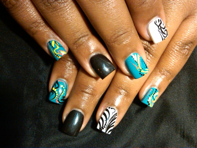 short-acrylic-nails-nail-art-155841